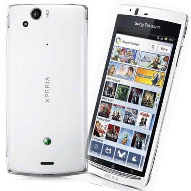Купить Sony Ericsson Xperia Arc S (белый) мобильный